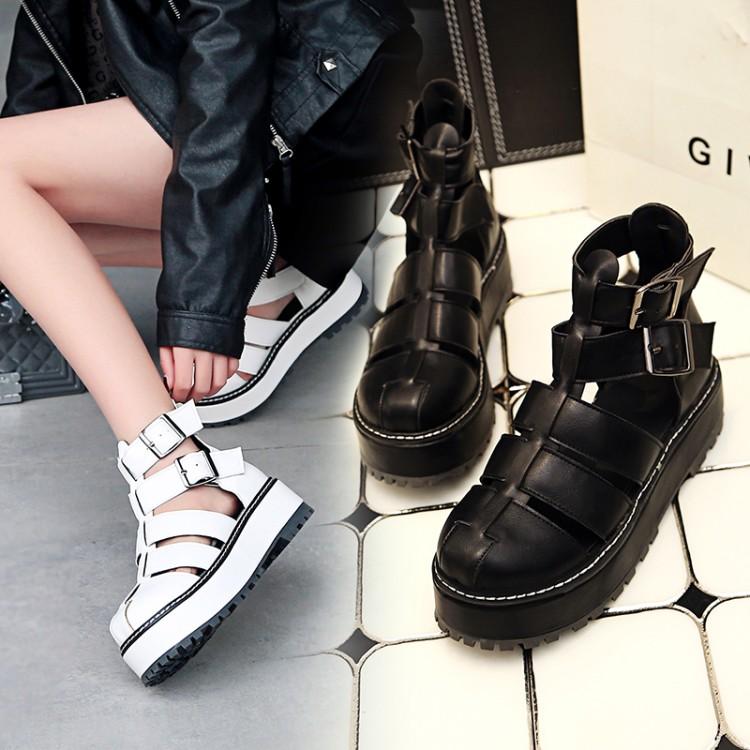 Preorder รองเท้าแฟชั่น สไตล์ เกาหลี 34-43 รหัส 9DA-4448