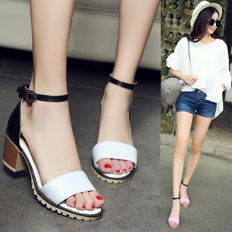 Preorder รองเท้าแฟชั่น สไตล์ เกาหลี 33-42 รหัส 9DA-3176
