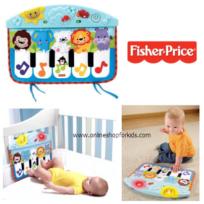 เปียโนแขวน Fisher-Price Precious Planet Kick and Play Piano