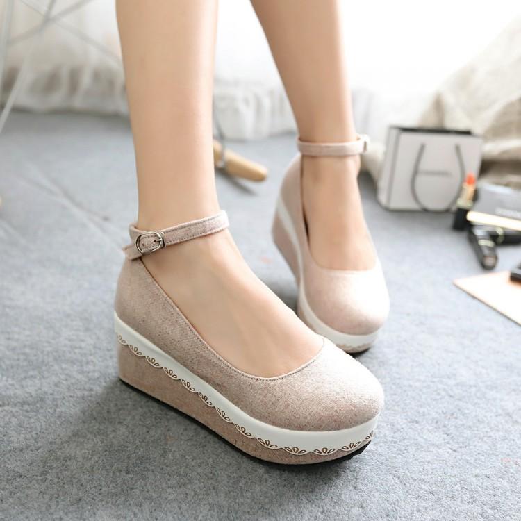 Preorder รองเท้าแฟชั่น สไตล์ เกาหลี 34-39 รหัส 9DA-2814
