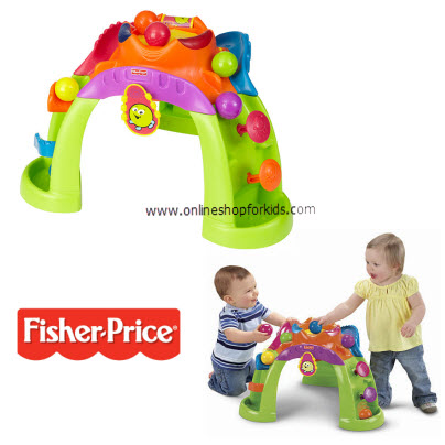 โต๊ะกิจกรรม Fisher-Price Stand-up Ballcano Activity Center