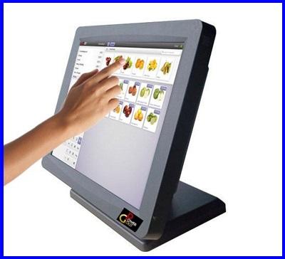 """จอภาพสัมผัส หน้าจอทัชสกรีน จอสัมผัสขนาด17นิ้ว POS (Monitor Touch Screen) Touch Screen Display POS 17"""""""