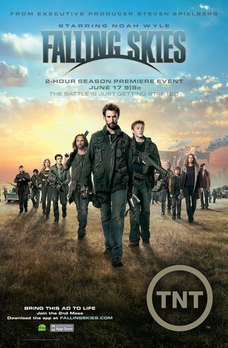 Falling Skies Season 2 / สงครามวันกู้โลกปี 2 / 3 แผ่น DVD (บรรยายไทย)