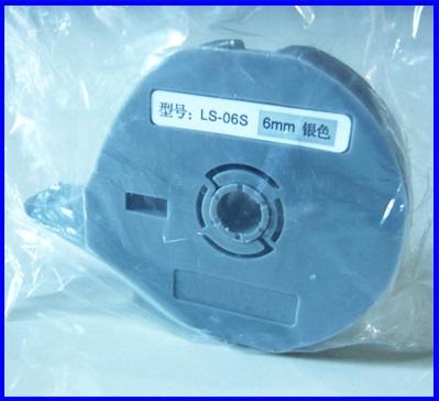 สติกเกอร์ พิมพ์ติดสายไฟ สำหรับ เครื่องพิมพ์ปลอกสายไฟ เครื่องพิมพ์สายไฟ เครื่องมาร์คปลอกสายไฟ Sticker Label Type: LS-6S,LS-6Y,LS-6W for PVC Tube Print