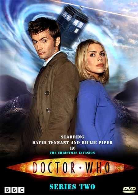 Doctor Who Season 2 / ด๊อกเตอร์ฮู กู้วิกฤตจักรวาล ปี 2 / 4 แผ่น DVD (พากษ์ไทย+บรรยายไทย)