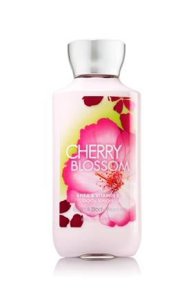 Bath & Body Works SHEA & VITAMIN E body lotion Cherry Blossom 8 oz.(236 ml.)บำรุงผิวให้นุ่มมม หอมมม นาน 16 ช.ม.ดีมากๆจากอเมริกาค่ะ