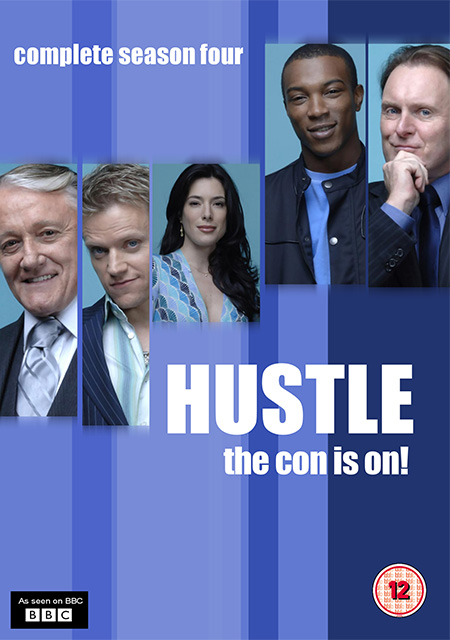 Hustle Season 4 / แก็งค์ตุ๋นระเบิด เชิดเงินสนั่นเมือง ปี 4 / 2 แผ่น DVD (พากษ์ไทย+บรรยายไทย)
