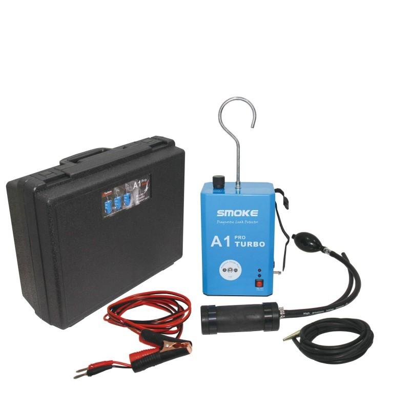 แบบส่งเร็วA1 Pro TURBO Automotive Diagnostic Leak Detector Smoke Powerful Tool to Fast Check System Leaks