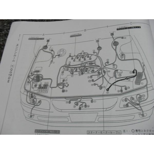 คู่มือซ่อมรถยนต์ WIRING DIAGRAM NISSAN AVENIR ปี 98