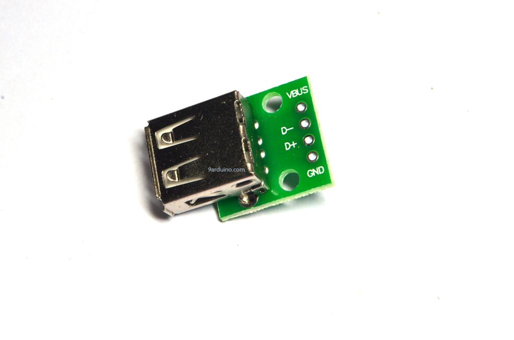Usb2 socket USB plug A Female (PCB)