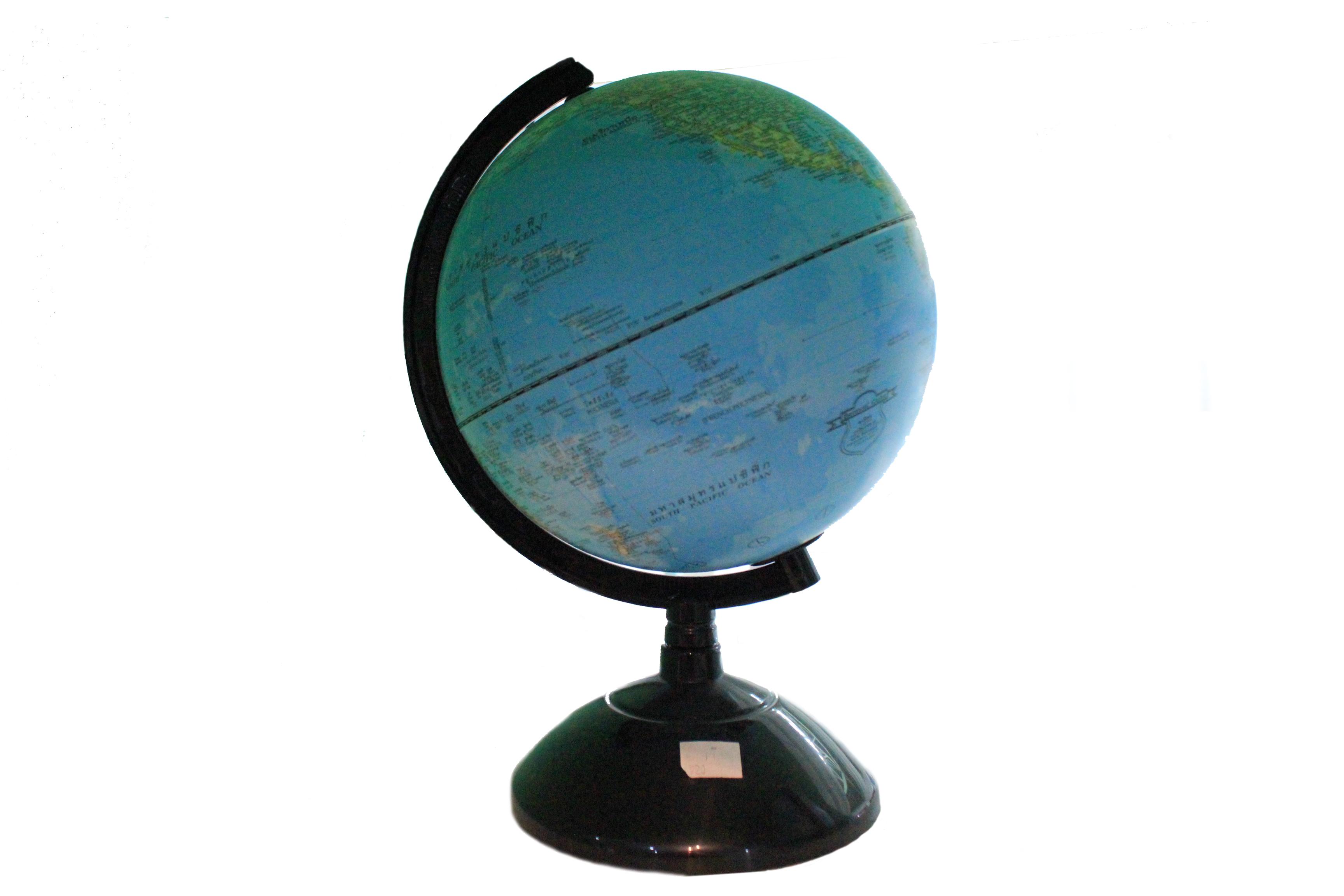 ลูกโลกขนาดเส้นผ่าศูนย์กลาง 10นิ้ว