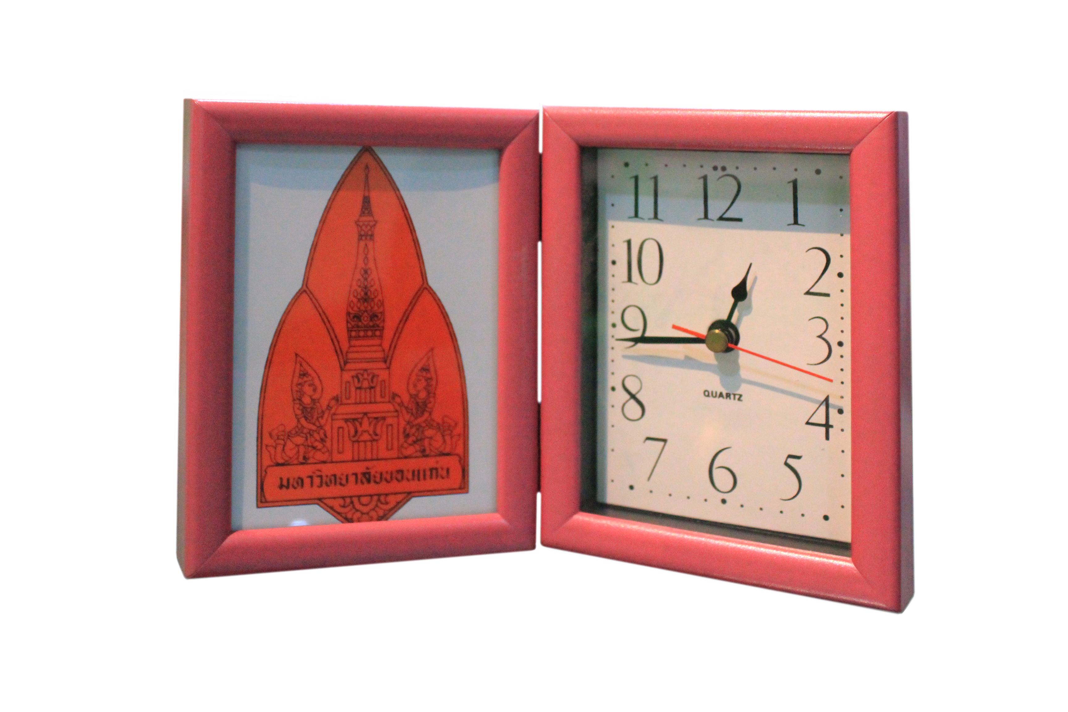 นาฬิกาพับเล็ก สีชมพู