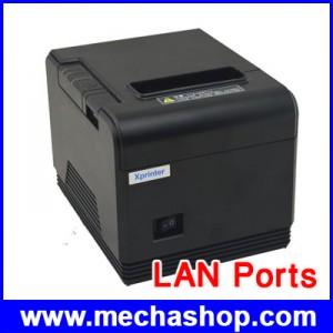 เครื่องพิมพ์ใบเสร็จ เครื่องพิมพ์สลิป เครื่องพิมพ์ความร้อน 80mm รองรับ Win7/Win8 ตัดกระดาษอัตโนมัติ LAN Ports (Ethernet Port)