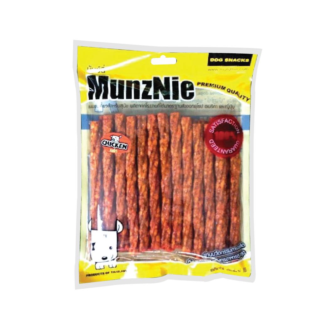 ขนมสุนัข MUNZNIE มันชี่เกรียว รสไก่