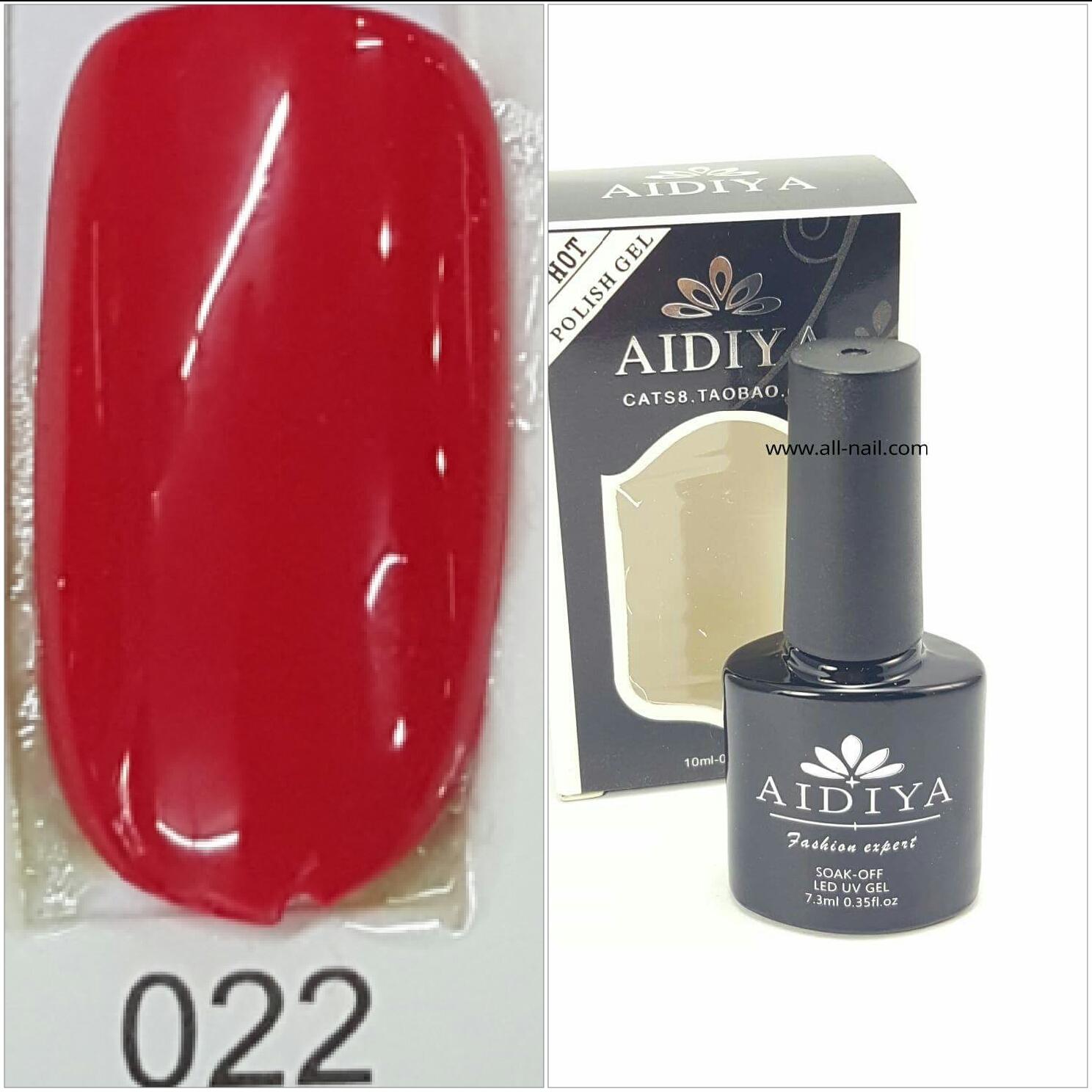 สีเจลทาเล็บ AIDIYA #022