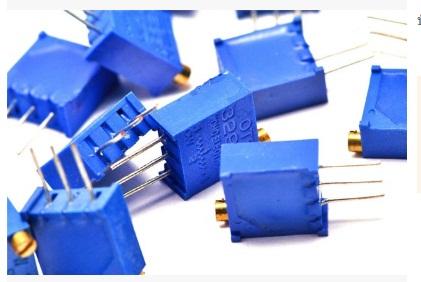 ตัวต้านทานปรับค่าได้ 2K แบบละเอียดหมุน 25 รอบ Trimpot 2 K 25 Turns 3296 Series Potentiometer Valiable Resistor