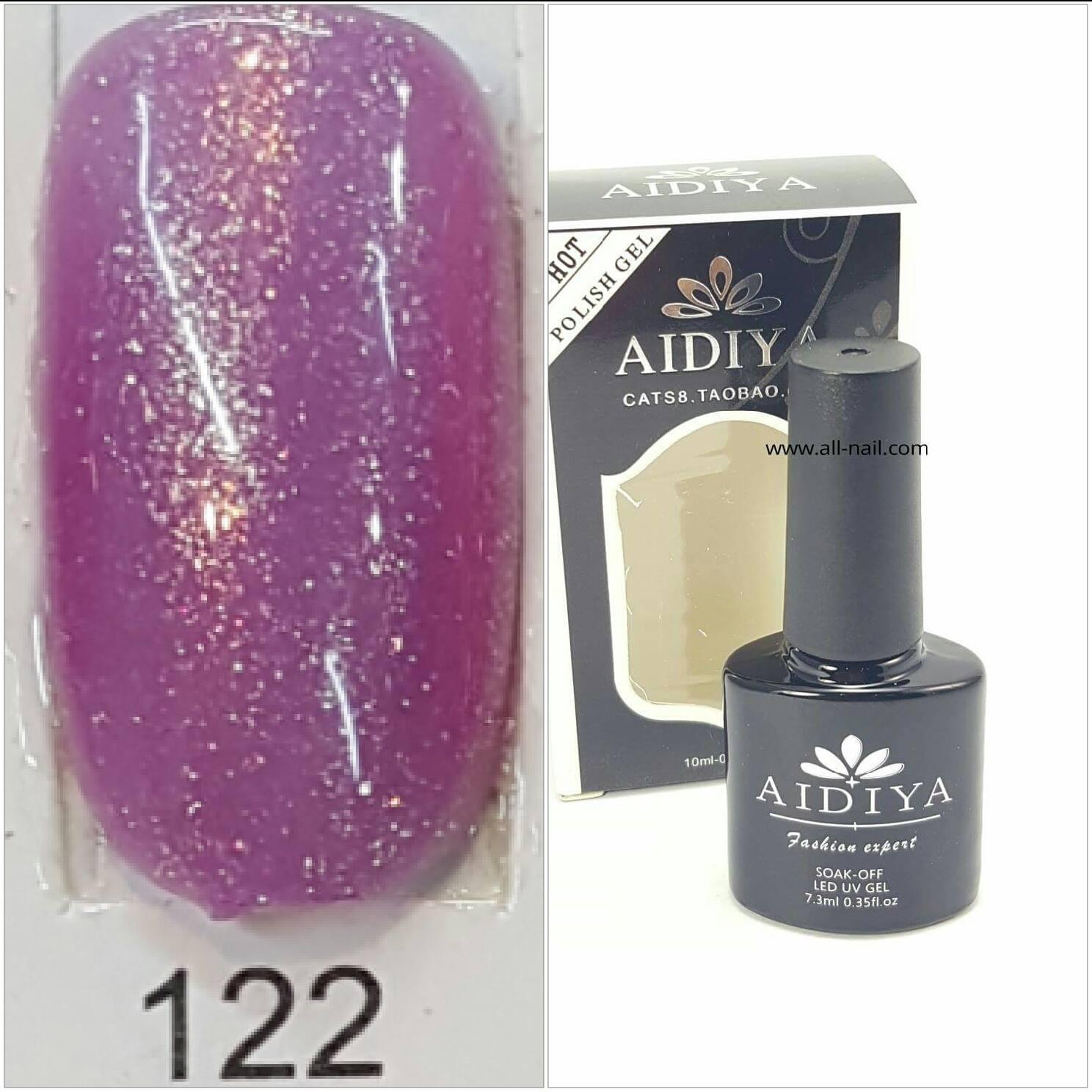 สีเจลทาเล็บ AIDIYA #122