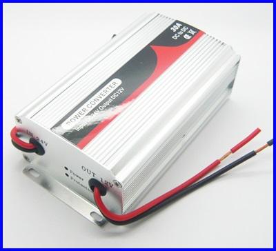 ดีซี คอนเวอร์เตอร์ สำหรับDC DC Converter 24V Step Down to 12V with 30A /400W Power Supply 24 to 12V