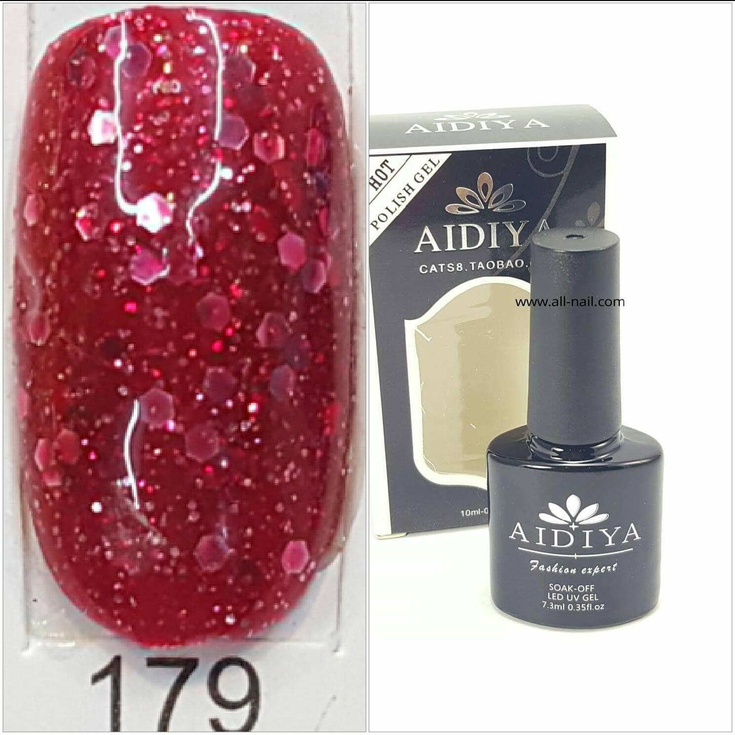 สีเจลทาเล็บ AIDIYA #179