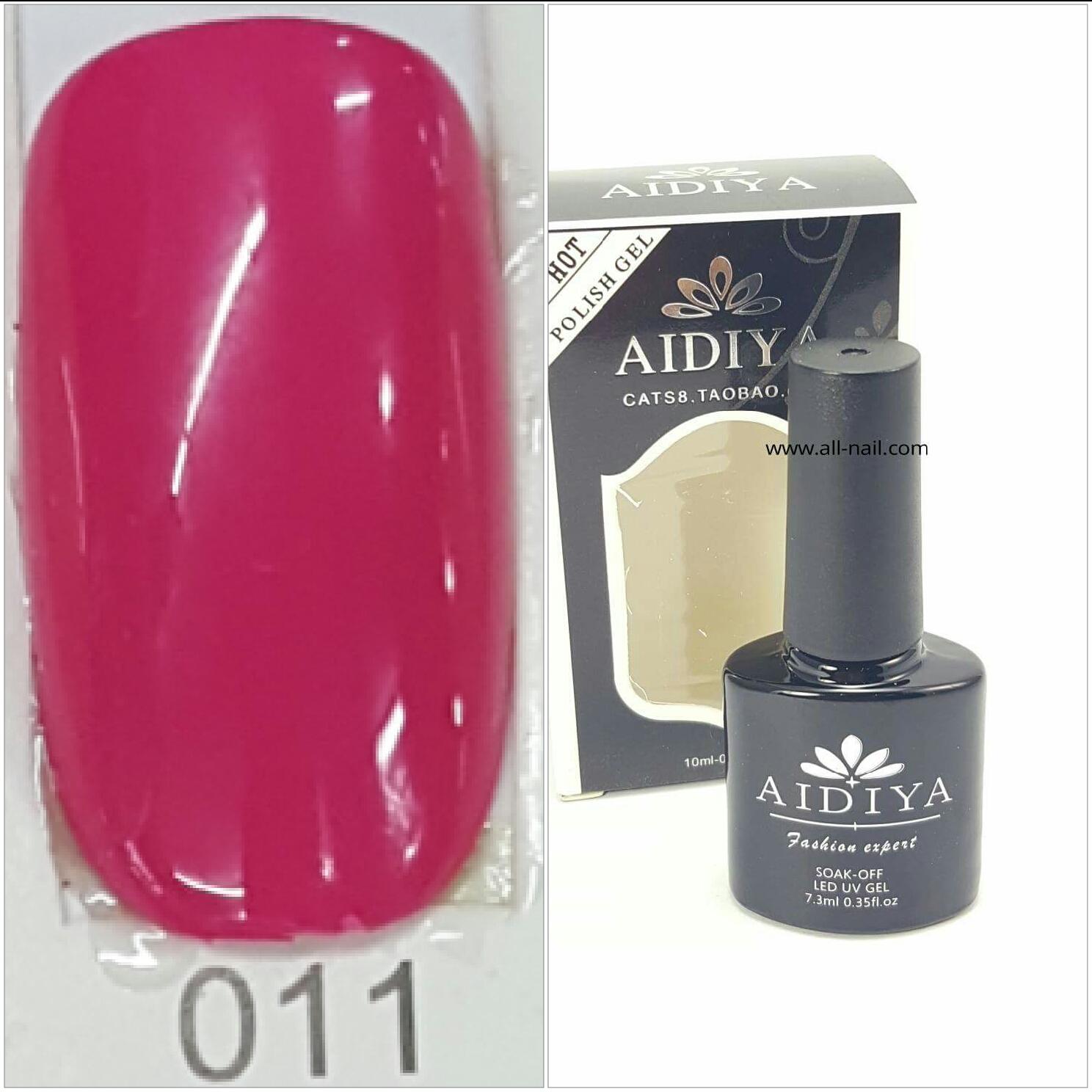 สีเจลทาเล็บ AIDIYA #011