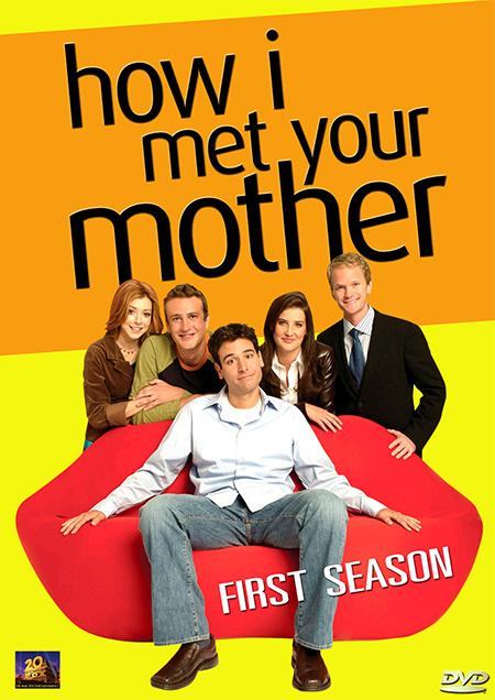 How I Met Your Mother Season 1 / แบบว่า...กว่าพ่อจะเจอแม่ ปี 1 / 3 แผ่น DVD (บรรยายไทย)