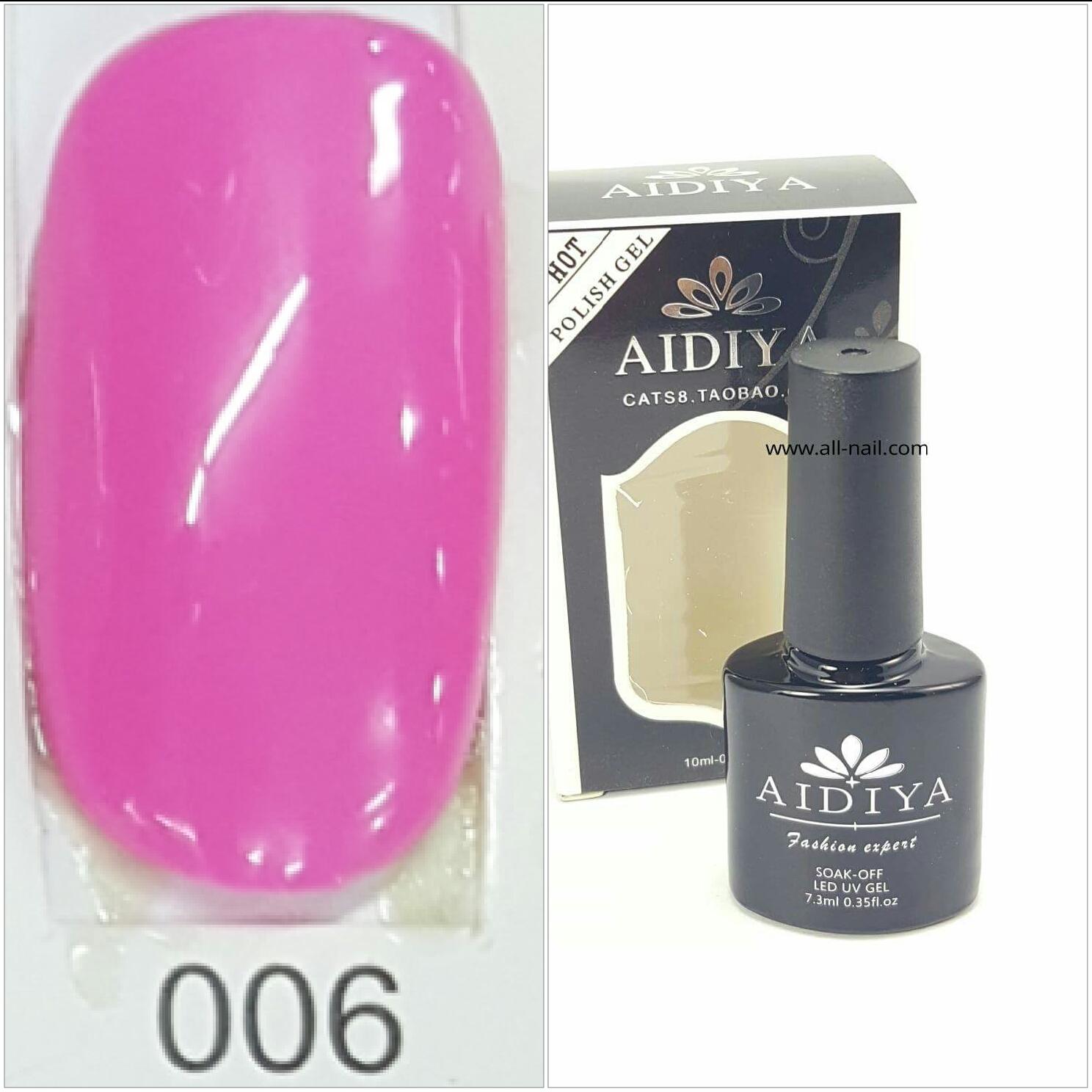 สีเจลทาเล็บ AIDIYA #006