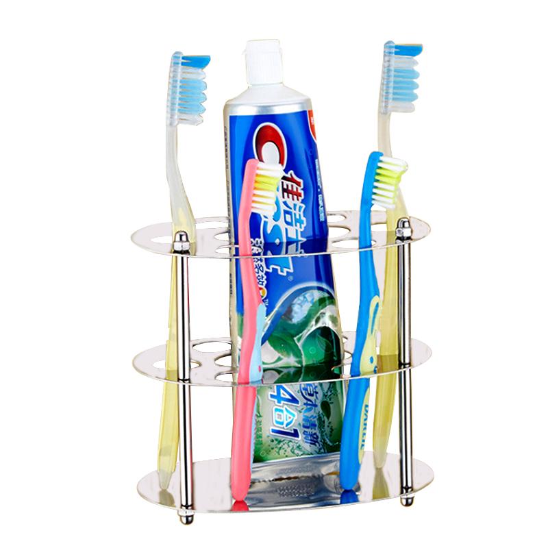 CASSA ที่ใส่แปรงสีฟัน ยาสีฟัน แสตนเลส ทรงกลม รุ่น SS201-F01B