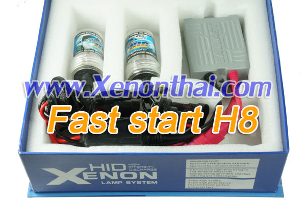 ไฟ xenon kit H8 Fast start Ballast A6