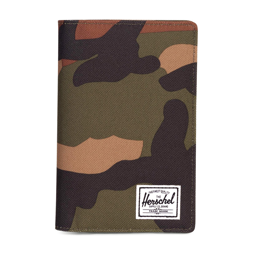 Herschel Search Passport Holder - Woodland Camo / RFID