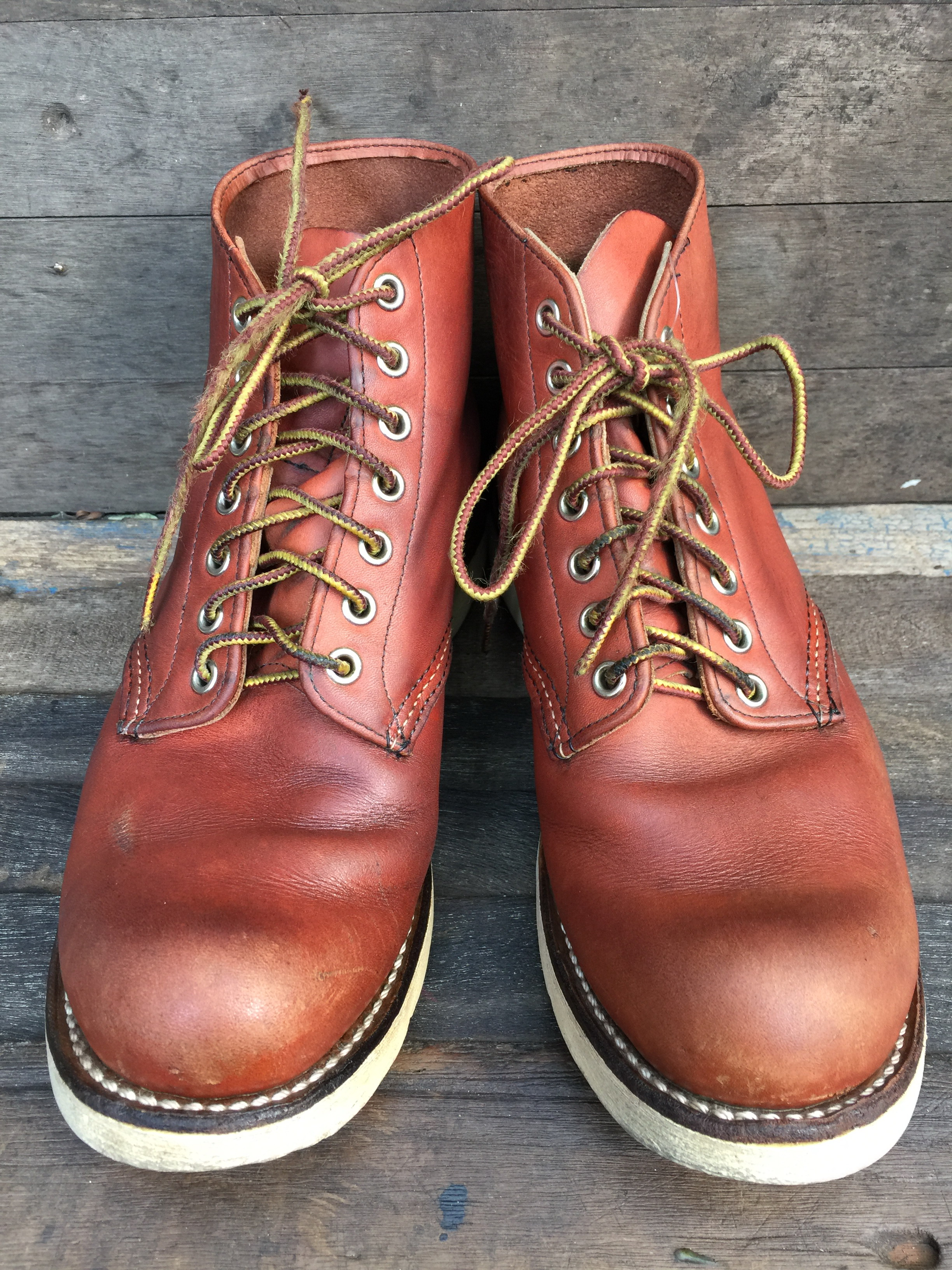 Vintage REDWING 8166 made in USA size 7.5D