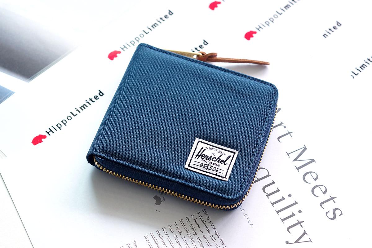 กระเป๋าสตางค์ Herschel Walt Wallet - Navy / Red