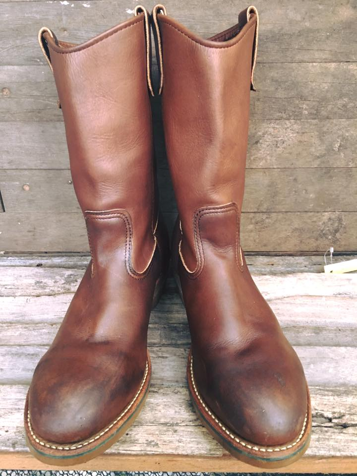 Red wing 2265 vintage safety หัวเหล็ก boots size 9D