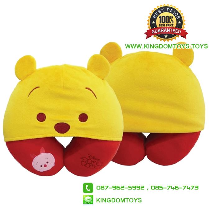หมอนรองคอ หมีพูห์ Pooh [Disney Tsum]