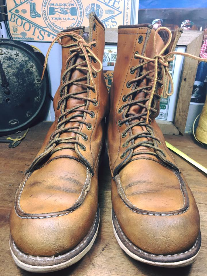 *1 Red wing 877 size 8.5D*
