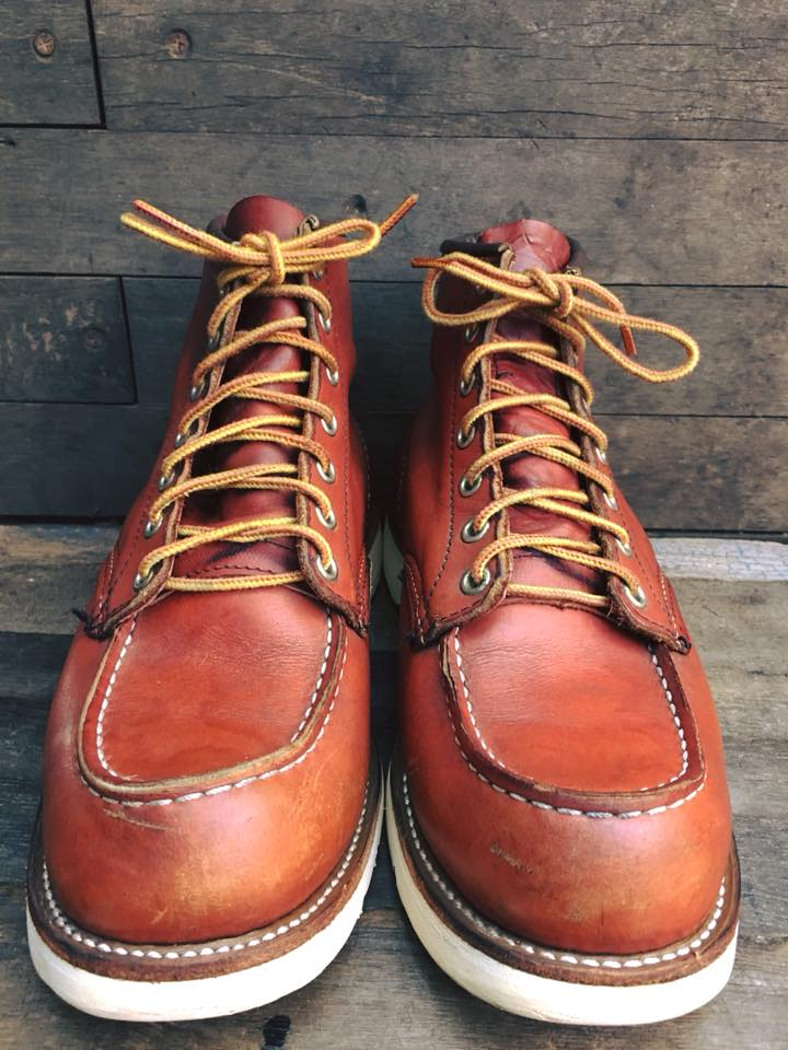 Red wing 8131 size 7E