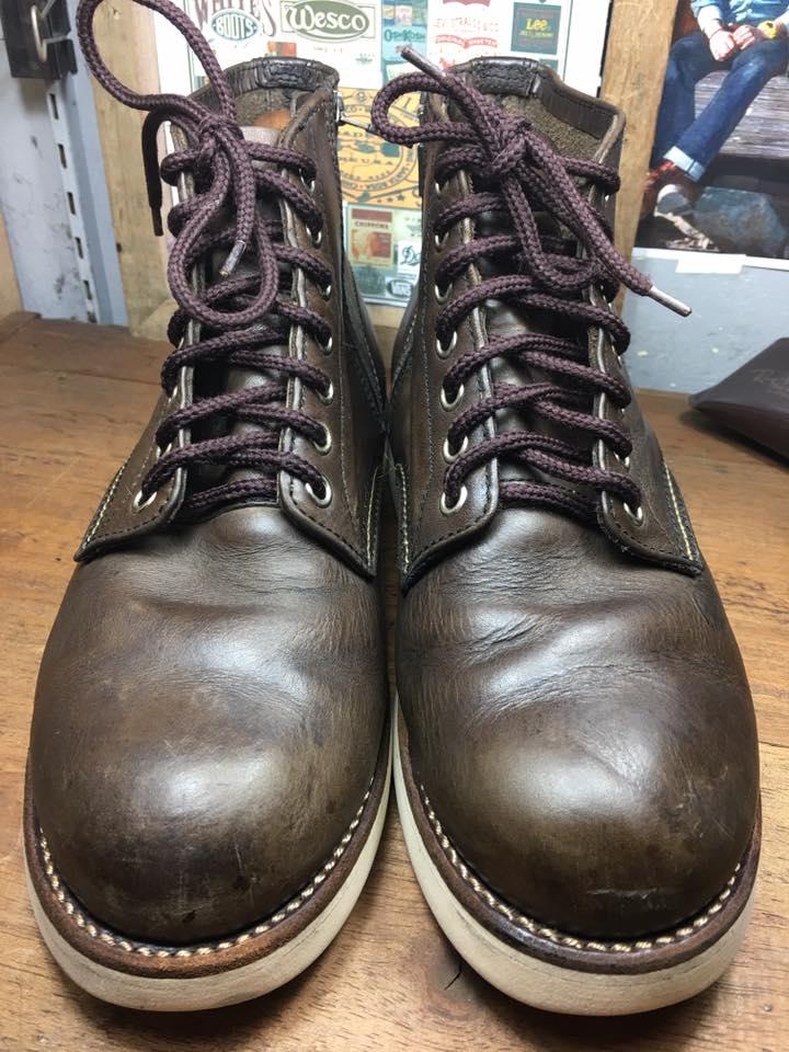 J&w Dawsons boot size 8-26cm งานดี พื้นvibram เบาๆ ซิป ykkกันน้ำ ราคา 1250