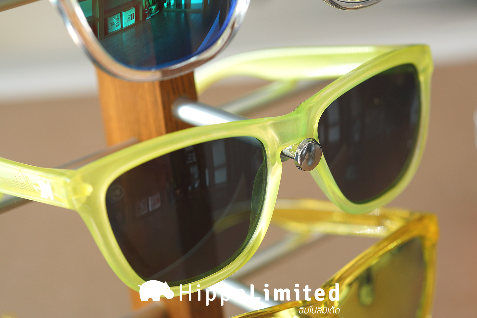 แว่น Knockaround Premiums Sunglasses - Citrus / Smoke