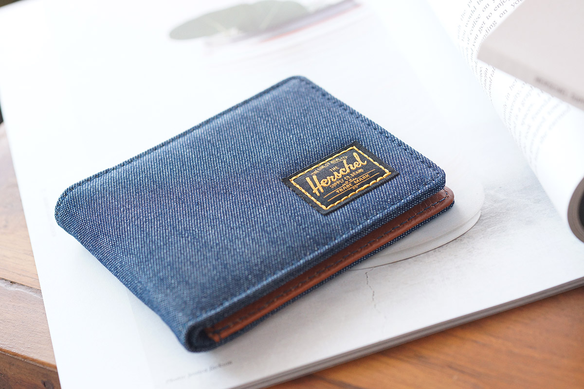 Herschel Hank Wallet - Dark Denim - 1