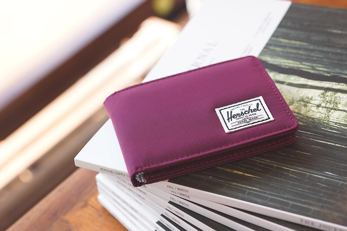 Herschel Roy Wallet - Windsor Wine Nylon