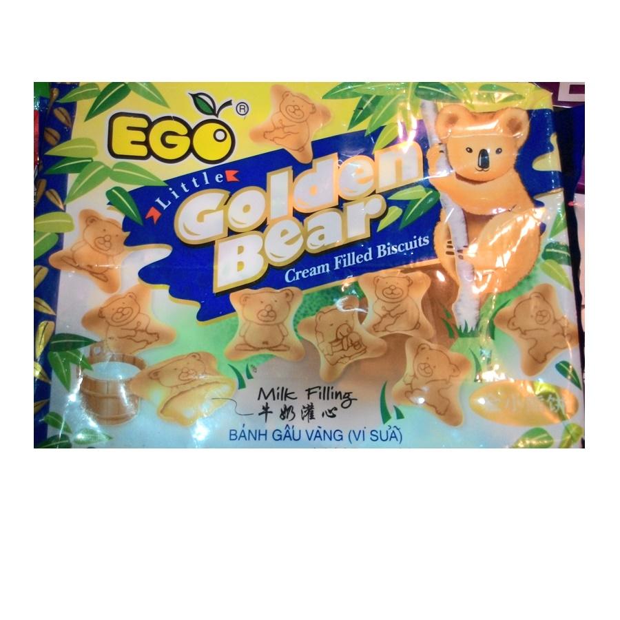 EGO Golden Bear บิสกิตสอดไส้นม (EGO Golden Bear Milk Filling Biscuits)