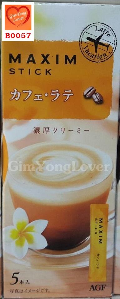 กาแฟแม็กซิมลาเต้ สำเร็จรูป 3in1 (MAXIM Stick Coffee Latte)