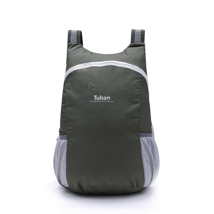 กระเป๋ากันน้ำพับได้ สีดำ