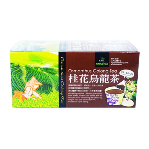 ชาอูหลงผสมดอก ออสแมนตัส (Osmanthus Oolong Tea)