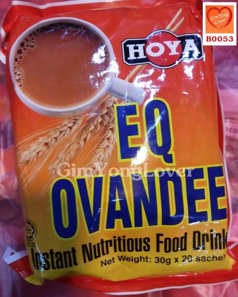Hoya โอวัลตินสำเร็จรูป (HOYA EQ OVANDEE Instant Nutritious Food Drink)
