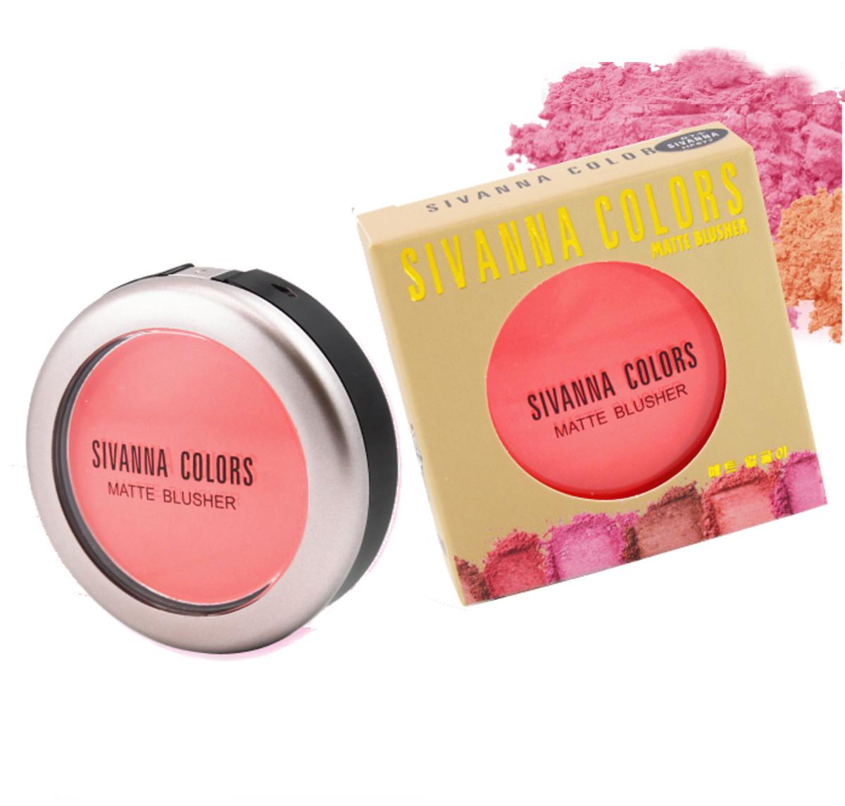 Sivanna Colors Matte Blusher บลัชออนสีหวาน