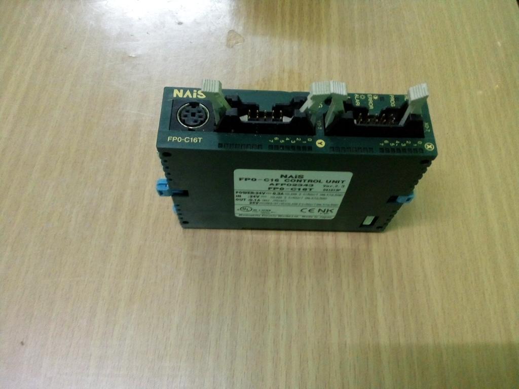 Panasonic, FP0-C16 control unit, FP0-C16T NAiS AFP02343 สินค้ามือ 2