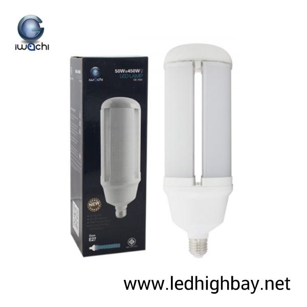 หลอดไฟไฮเบย์ LED 50w ยี่ห้อ Iwachi (แสงขาว)