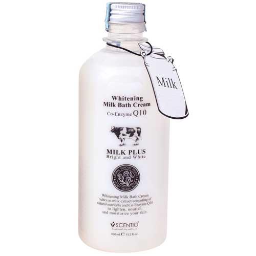 Beauty Buffet Scentio Milk Plus Bright & White Shower Cream ครีมอาบน้ำบำรุงผิวขาว