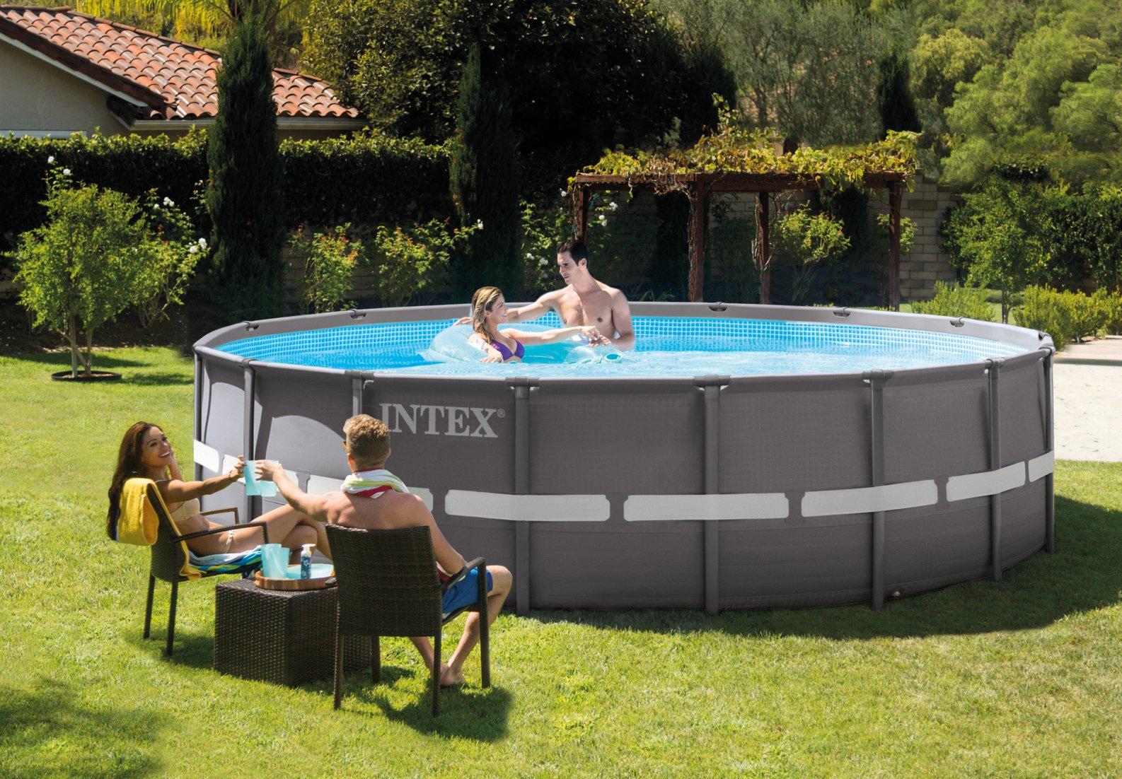 สระว่ายน้ำสำเร็จรูป Intex 16 ฟุต