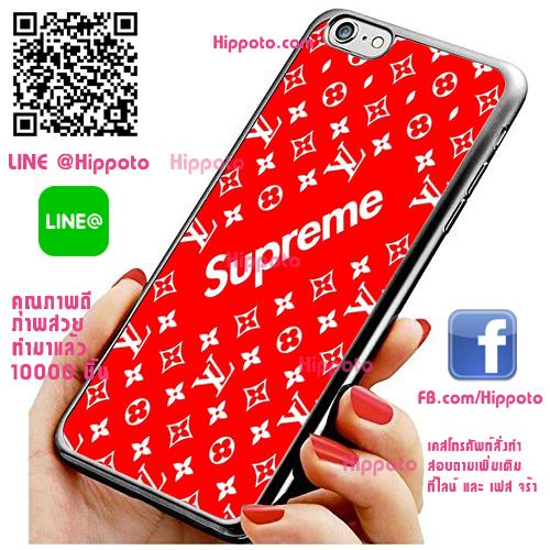 เคส ไอโฟน 6 / เคส ไอโฟน 6s โลโก้ Supreme หลุยส์ เคสสวย เคสโทรศัพท์ #1049